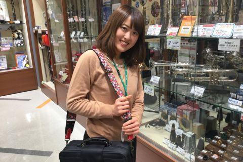 スタッフ写真ヴァイオリン、教育楽器、和楽器、管楽器アクセサリー山﨑