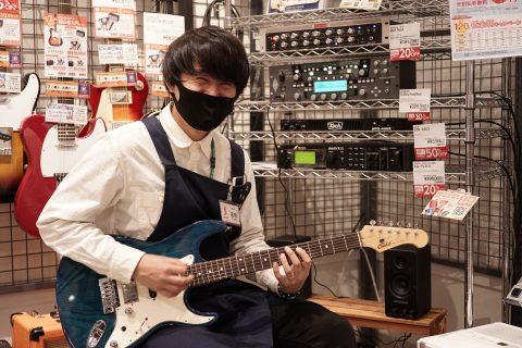 スタッフ写真ギターアドバイザー辰野