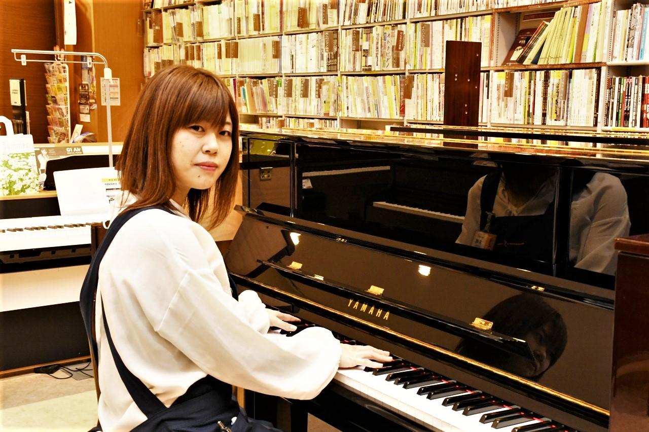 島村楽器イオンモール広島祇園店 ピアノ担当 古橋美紀
