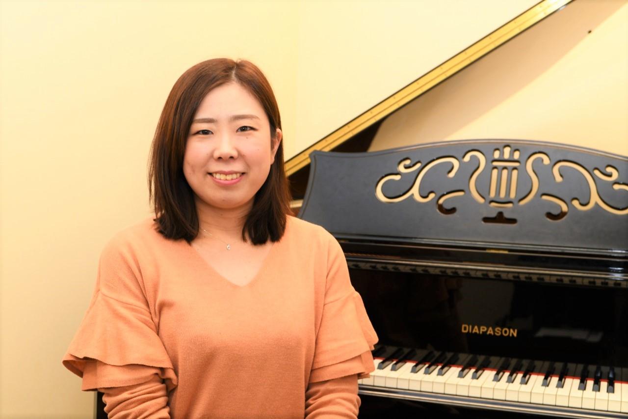 ピアノ科講師 沖本真央