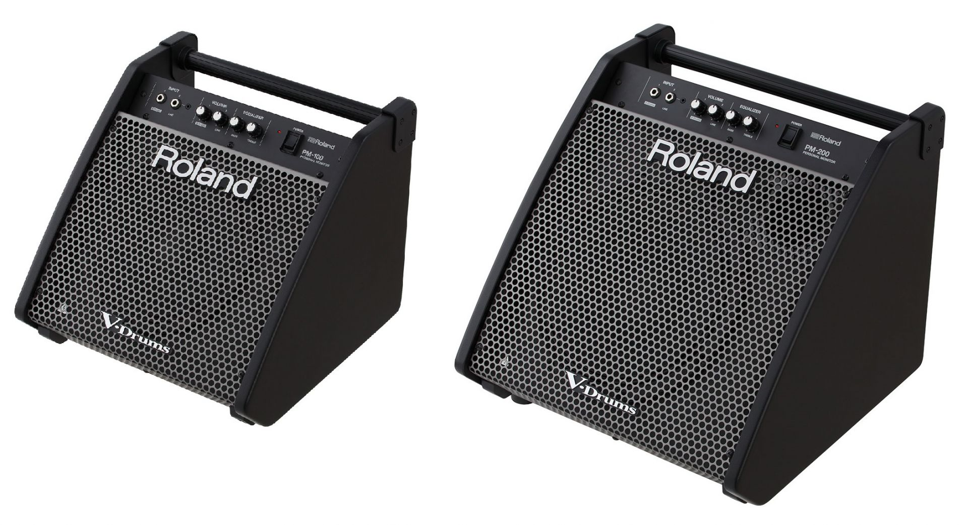 Roland V-Drums 専用のモニター・スピーカー PM-100 / PM-200