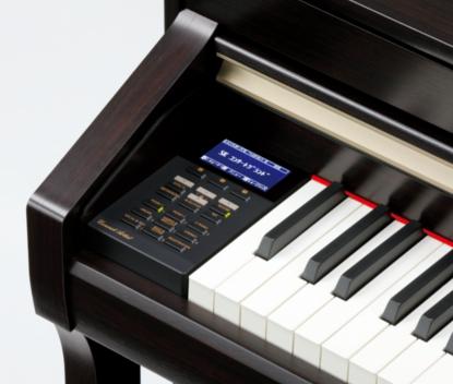 操作しやすい液晶ディスプレイ 多彩な機能をより使いやすくするために、適切なボタン配置と128×64dotの液晶ディスプレイを搭載。視認性が高く、簡単な操作が可能です。