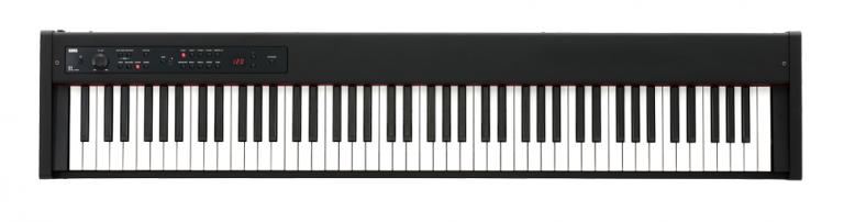 KORG ( コルグ )が持ち運びも可能なコンパクト設計の88鍵デジタルピアノ「D1」を発売します。  Korg新製品発表会における人気のジャズ・ロック・ピアノトリオ「fox capture plan」によるデモ。