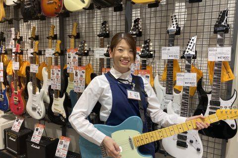 スタッフ写真エレキギター・エレキベース亀尾