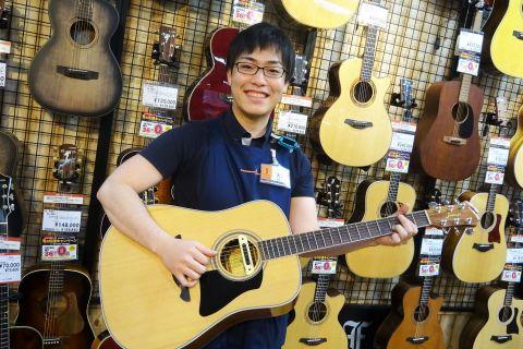 スタッフ写真アコースティックギター、DTM大原