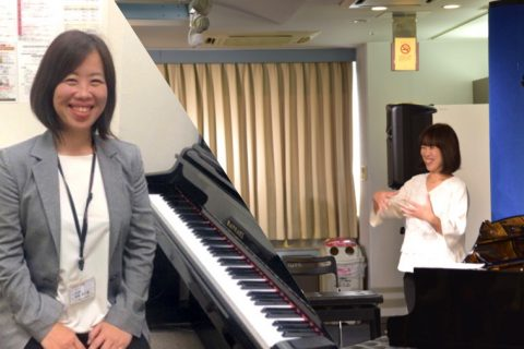 スタッフ写真ピアノインストラクター和田