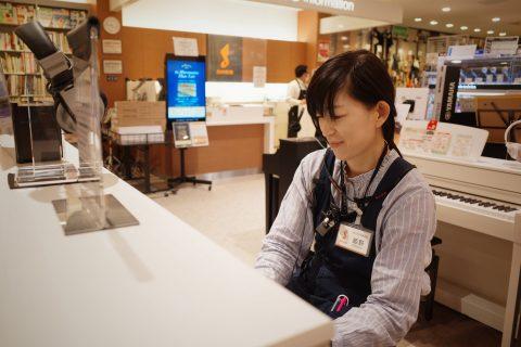 スタッフ写真電子ピアノ・キーボード・管楽器姫野