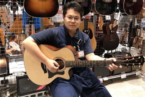 スタッフ写真ギター/ベース/エフェクター/アンプ/ドラム白井
