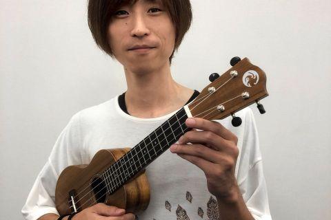 ウクレレ科講師金井康浩