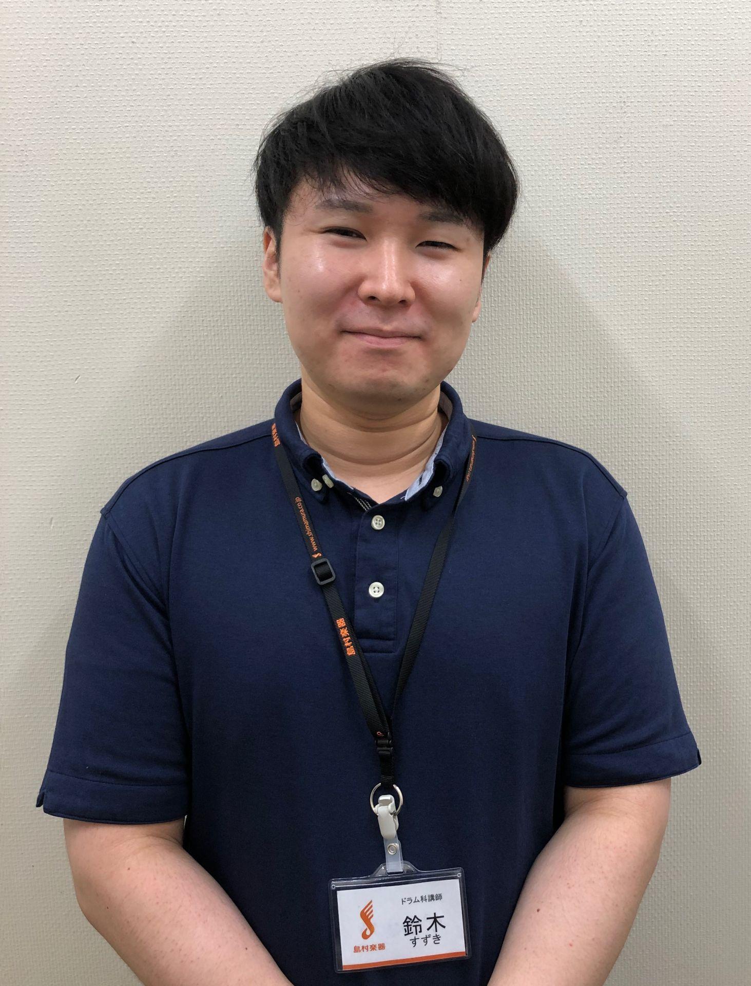 ドラム教室講師鈴木匠