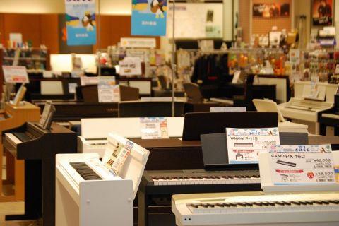島村楽器浜松市野店電子ピアノ