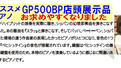 島村楽器イオンモール浜松市野店GP500BP