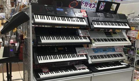 キーボード島村楽器イオンモール浜松市野店