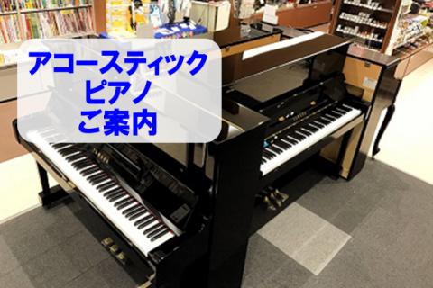 島村楽器イオンモール浜松市野店アコースティックピアノ