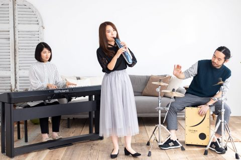 リコーダー感覚で楽しめる電子管楽器「Roland Aerophone mini」ご予約受付中!