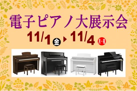 イオンモール浜松市野店電子ピアノ