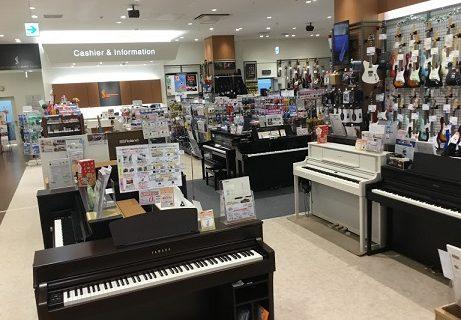 島村楽器イオンモール浜松市野店電子ピアノコーナー