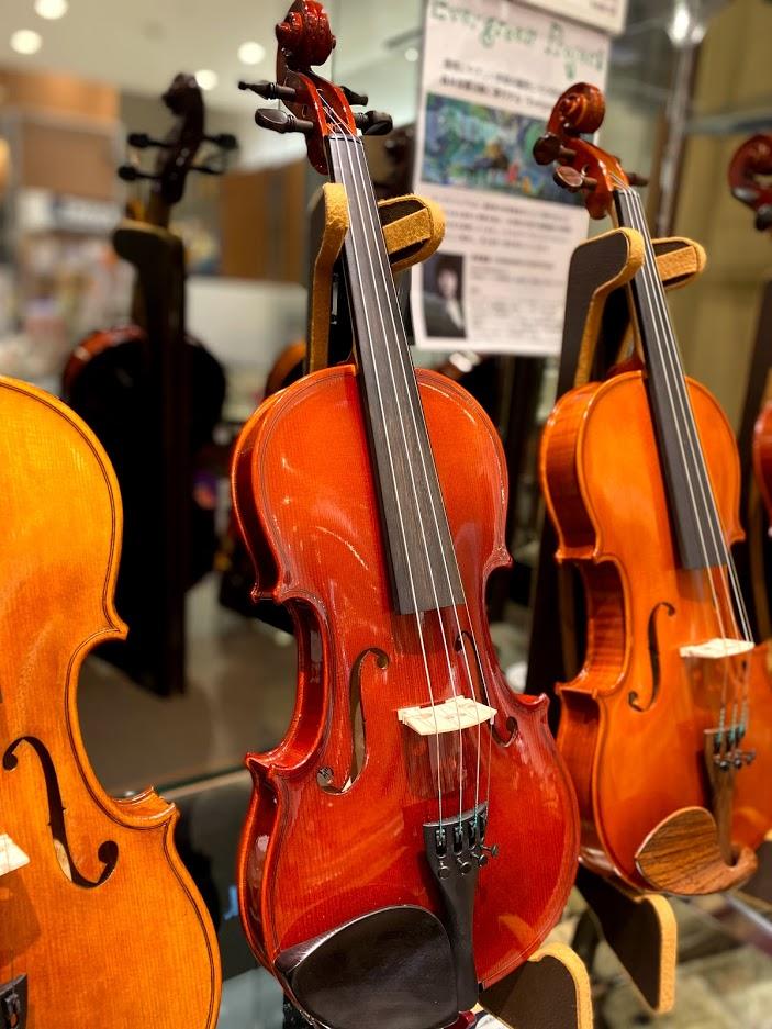 島村楽器イオンモール浜松市野店バイオリンARSMUSIC 026AS/Stand SET