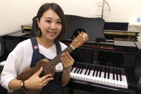 スタッフ写真音楽教室・ウクレレ担当佐野