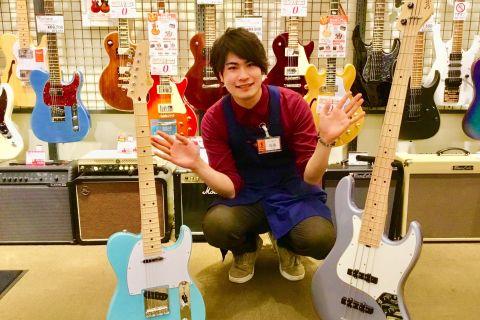 スタッフ写真エレキギター・ベース・ドラム・弦担当加藤(ギターアドバイザー)
