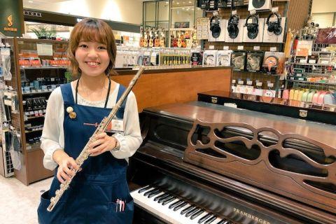 スタッフ写真ピアノ・管楽器担当内田