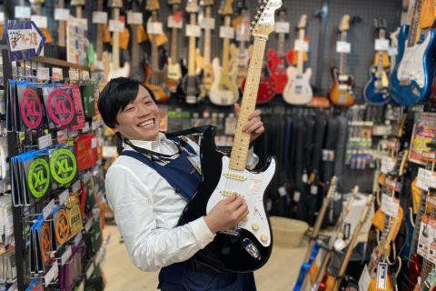 スタッフ写真エレキギター・ベース・エフェクター担当塩谷