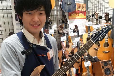 スタッフ写真エレキギター・エレキベース・エフェクター鈴木