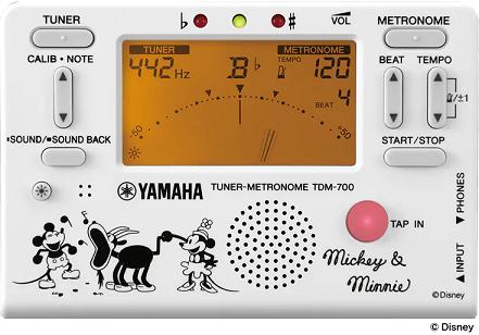 2020年 ヤマハ ディズニー チューナー 管楽器 柏 流山 新作 新商品