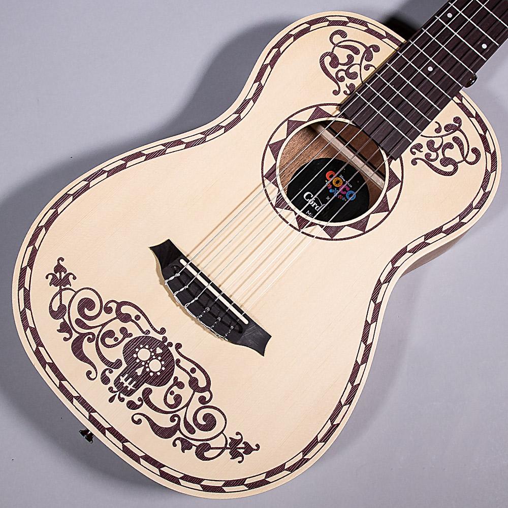 ディズニー/ピクサー映画最新作『リメンバー・ミー』(原題『Coco』)のイメージで製作されたCoco x Córdoba ミニナイロン弦ギターです。映画に登場するデラクルスの