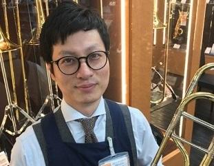 スタッフ写真主任・管楽器・音楽教室・中四国管楽器フェスタ総責任者内藤