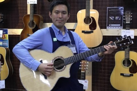 スタッフ写真【副店長】《ギターエイド・ギター・ピアノアドバイザー》エレキギター・エレキべース山崎