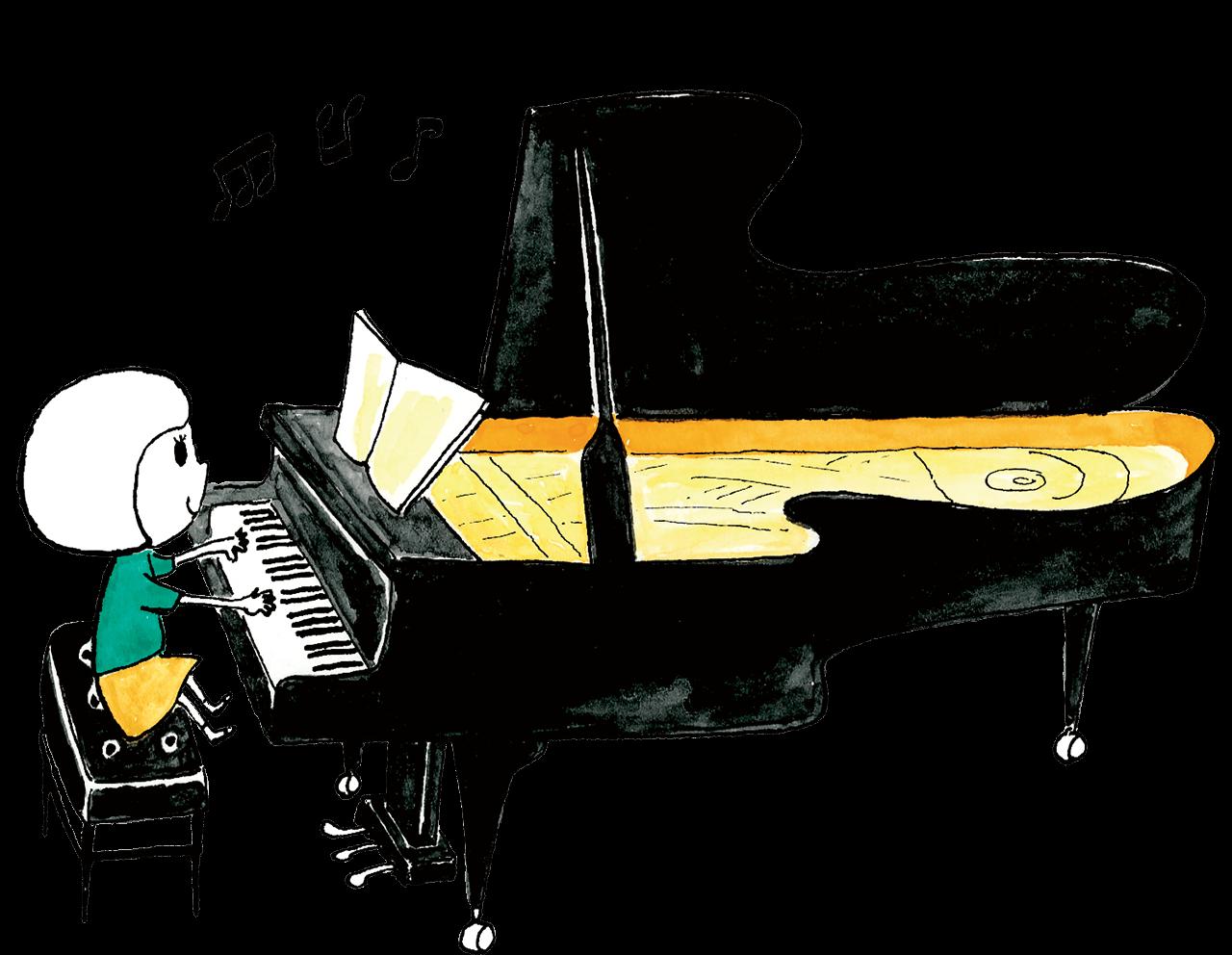 ピアノ教室のロゴ