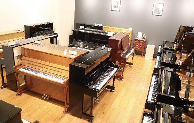 ピアノショールームの写真