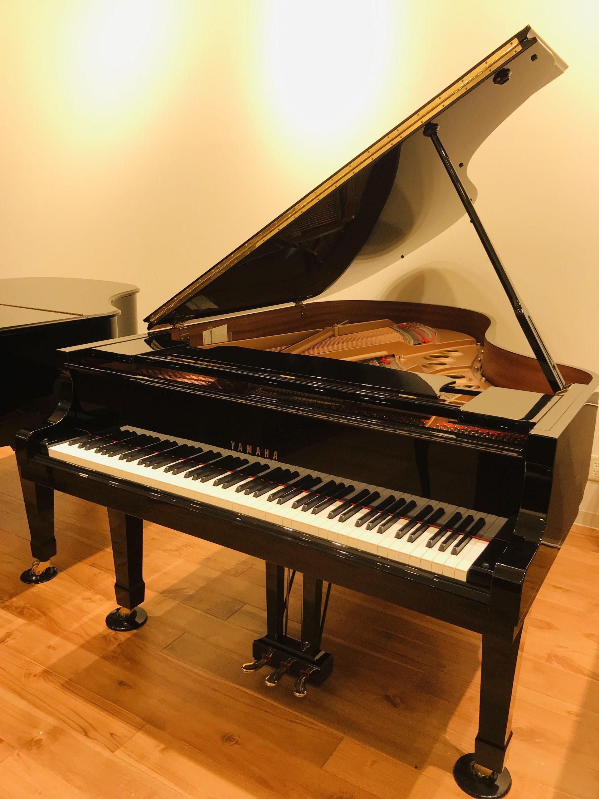 ヤマハの中古グランドピアノC5