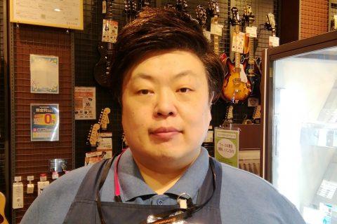 スタッフ写真店長・防音・デジタル楽器アドバイザー木下 友寿