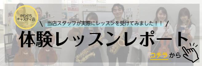 川口駅前音楽教室島村楽器かわぐちキャスティ店体験レッスンご予約受付中!