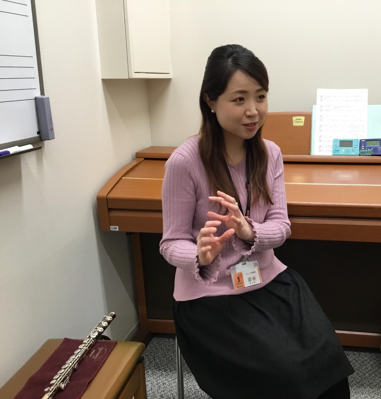 川口駅前音楽教室フルート講師添谷先生