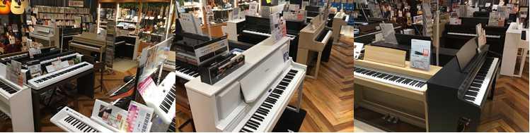 埼玉県川口市島村楽器かわぐちキャスティ店電子ピアノ画像