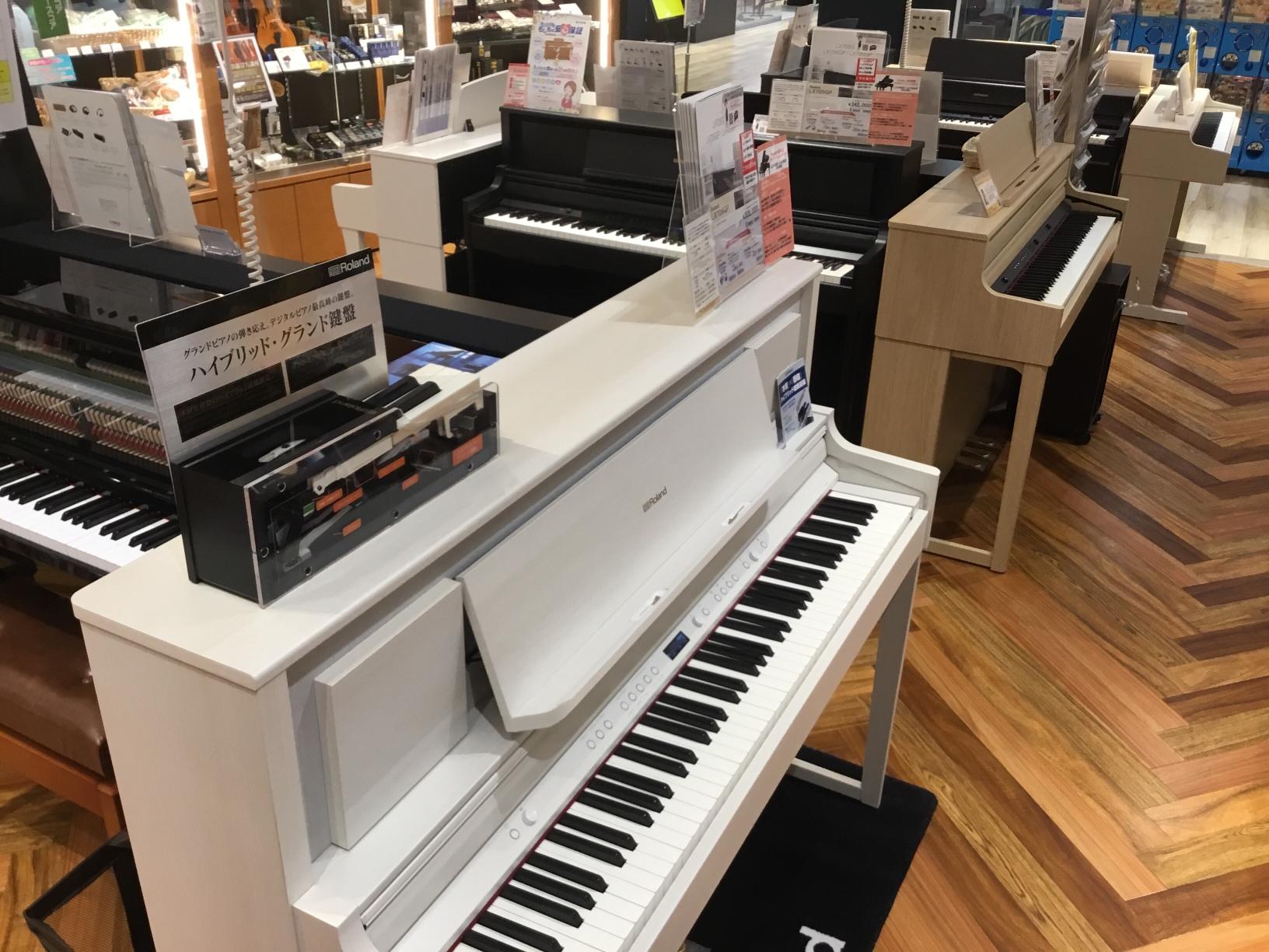 川口駅前島村楽器かわぐちキャスティ電子ピアノ総合