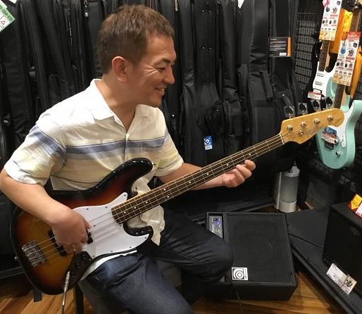 島村楽器ベース教室講師藤本真也画像
