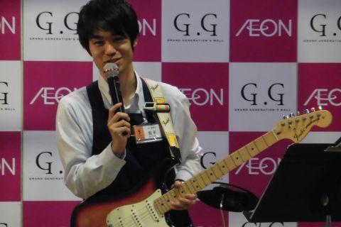 スタッフ写真ギター・ベース・音楽教室担当宮平