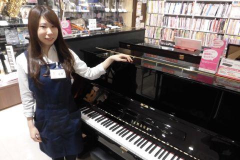 スタッフ写真ピアノ 弦楽器 音楽教室担当谷藤