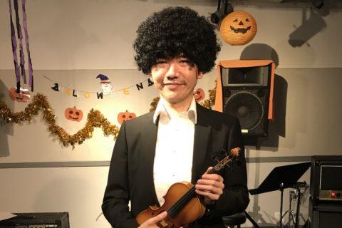スタッフ写真アンプ・エフェクター・ドラム担当渡邉