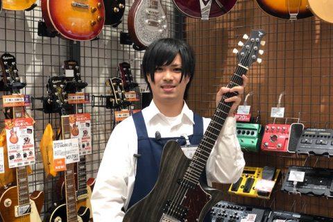 スタッフ写真エレキギター・エフェクター・ギターアクセサリー 好きなアーティスト:己龍辻本