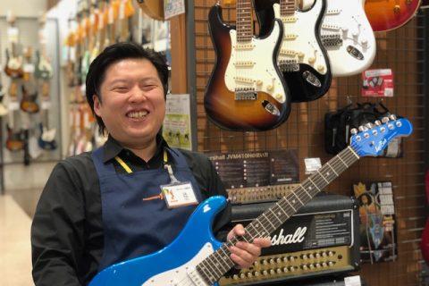 スタッフ写真ギター・ベース・アンプ・エフェクター・DTM 好きなアーティスト:HR/HM オールジャンル辻