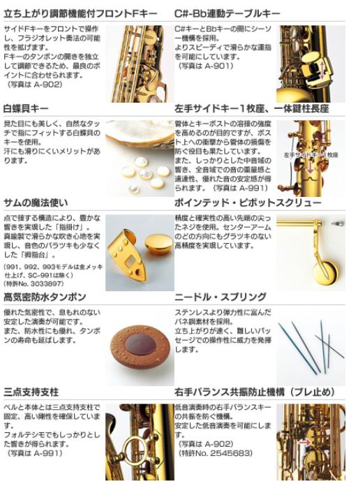 柏 管楽器  ヤナギサワ YANAGISAWA アルト サックス A-WO