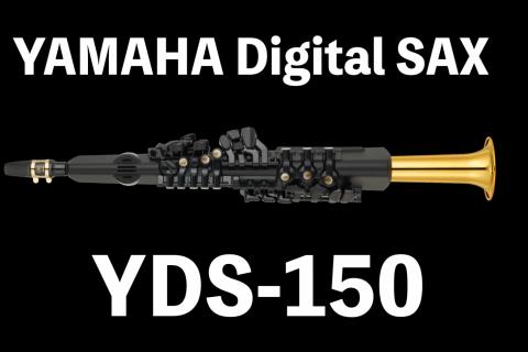 新製品 YAMAHA YDS-150 デジタルサックス