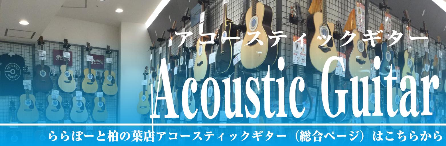 ららぽーと柏の葉アコースティックギター総合ページ