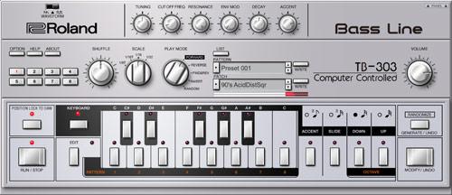 TB-303 ベースマシン