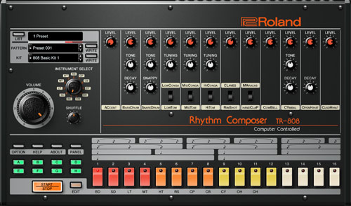 TR-808 音源 名器 名曲